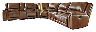 Jayron 3-Piece Reclining Sectional with Power