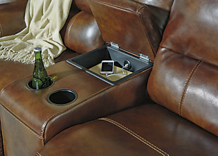 Jayron Power Reclining Loveseat with Console, , large