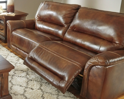 Information about Sofa Harness Leather Reclining Product Photo