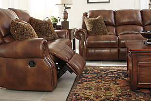 Walworth Power Reclining Sofa, Auburn, large