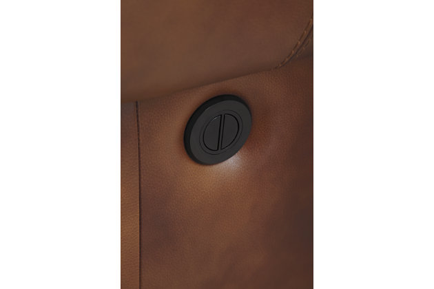Walworth Power Reclining Loveseat, Auburn, large