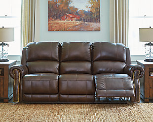 Buncrana Power Reclining Sofa, , large