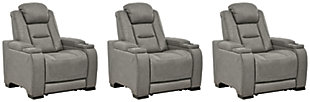 The Man-Den 3-Piece Home Theater Seating, , large