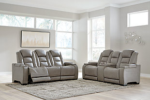 The Man-Den Sofa and Loveseat, , rollover