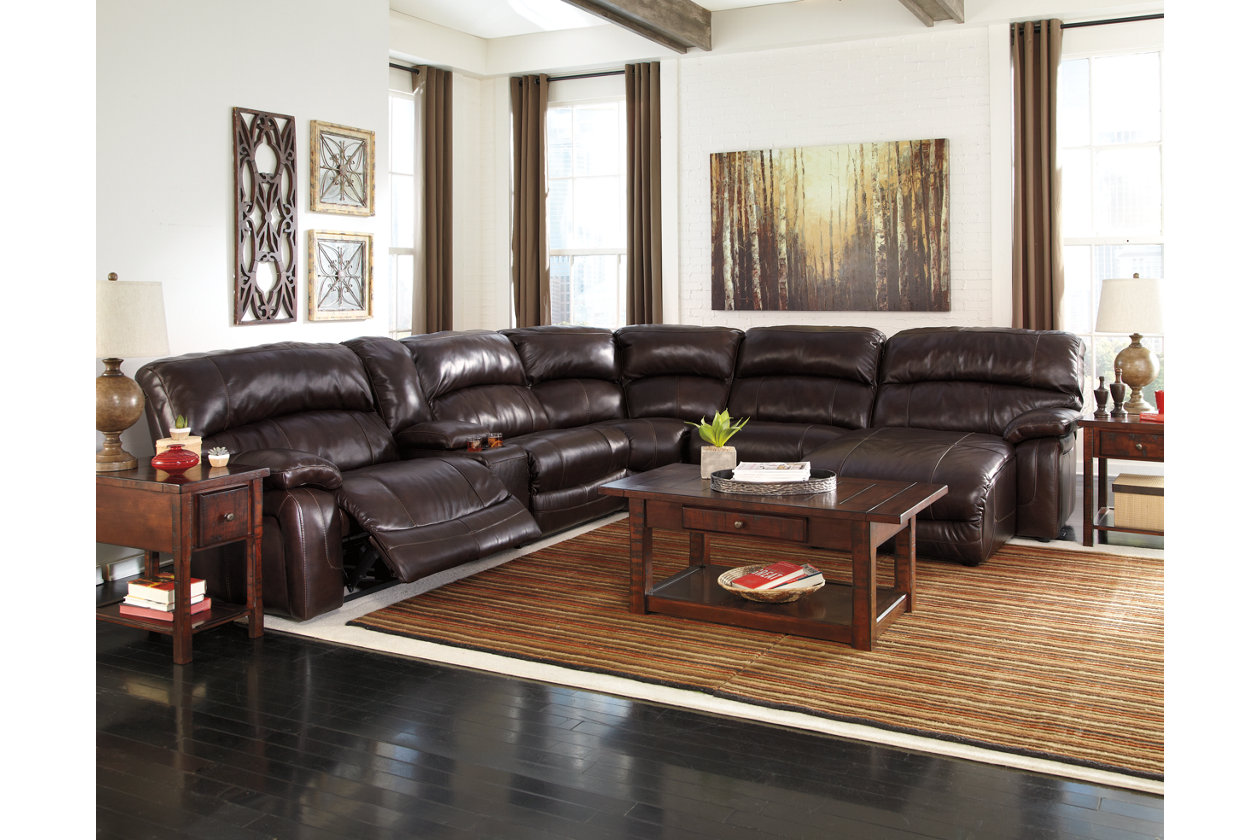 Wondrous Damacio 6 Piece Reclining Sectional With Chaise And Power Machost Co Dining Chair Design Ideas Machostcouk