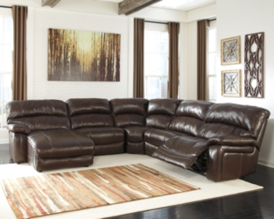 Sectional Power Dark Brown Piece Product Photo