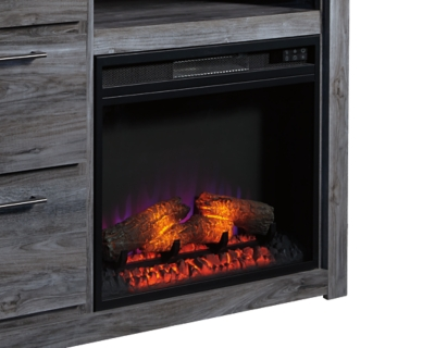 Entertainment Accessories Fireplace Insert Ashley Furniture
