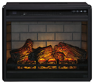 Entertainment Accessories Electric Infrared Fireplace Insert, , large