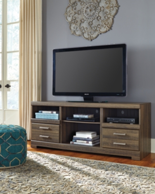 """Ashley Frantin 64"""" TV Stand, Brown"""
