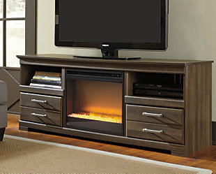 """Frantin 64"""" TV Stand with Electric Fireplace, , rollover"""