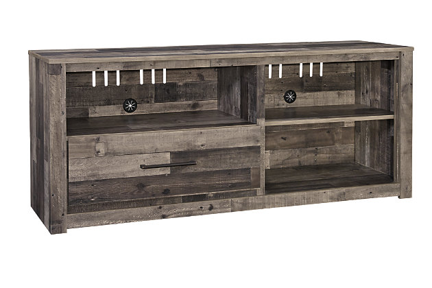 """Derekson 59"""" TV Stand with Electric Fireplace, , large"""