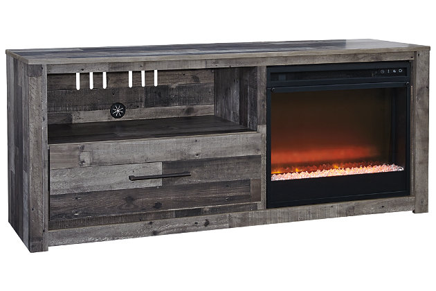 "Derekson Derekson 59"" TV Stand with Fireplace, , large"