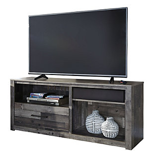 derekson 59 tv stand with wireless pairing speaker - Entertainment Centers With Bookshelves