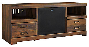 """Quinden 64"""" TV Stand with Wireless Pairing Speaker, , large"""