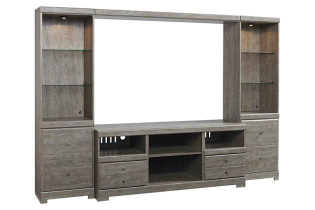 Parlau 4-Piece Entertainment Center, , large