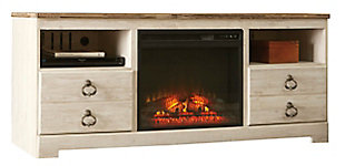 """Willowton 64"""" TV Stand with Electric Fireplace, , large"""
