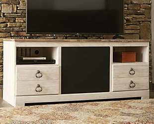 "Willowton 64"" TV Stand with Wirelss Pairing Speaker, , rollover"