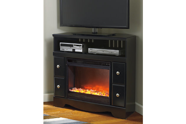 "Shay 38"" TV Stand with Electric Fireplace, , large"