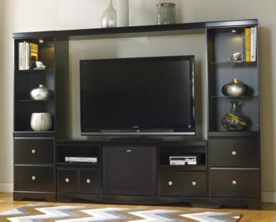 Ashley Shay 4-Piece Entertainment Center with Wireless Pa...