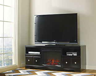 "Shay 64"" TV Stand with Electric Fireplace, , rollover"