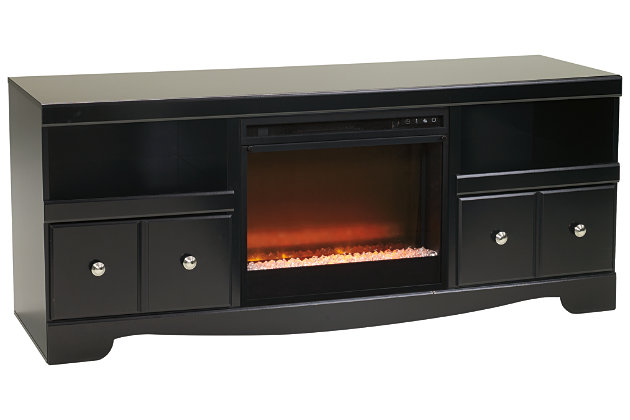"Shay 64"" TV Stand with Electric Fireplace, , large"