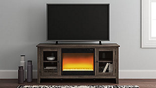 "Arlenbry 60"" TV Stand with Electric Fireplace, , rollover"