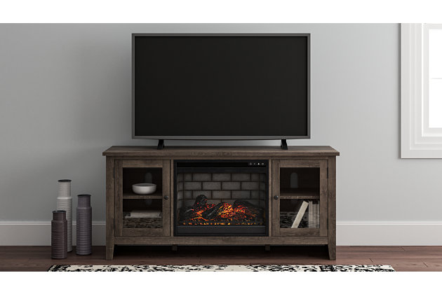 "Arlenbry 60"" TV Stand with Electric Fireplace, , large"