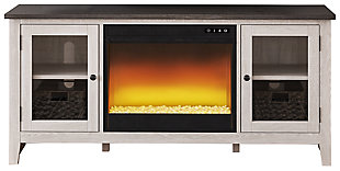 "Dorrinson 60"" TV Stand with Electric Fireplace, , large"