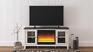 "Dorrinson 60"" TV Stand with Electric Fireplace, , rollover"
