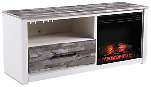 Evanni TV Stand with Fireplace, , large