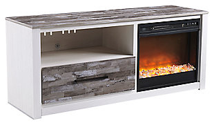"Evanni 59"" TV Stand with Electric Fireplace, , large"