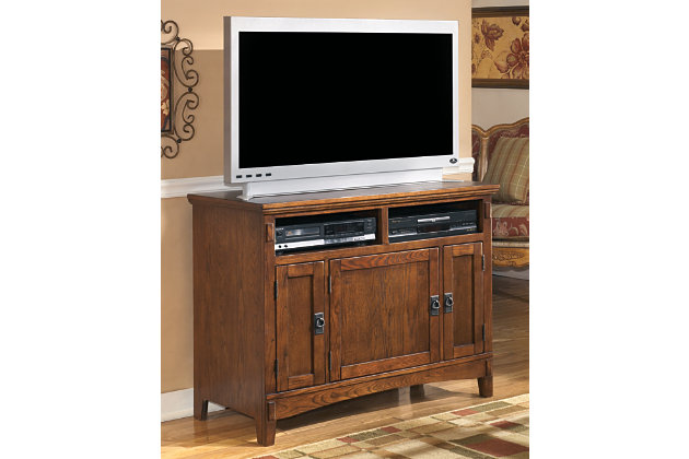 "Cross Island 42"" TV Stand by Ashley HomeStore, Brown"