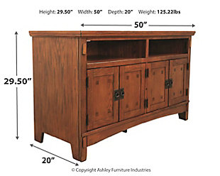 "Cross Island 50"" TV Stand, , large"