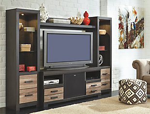 Harlinton 5-Piece Entertainment Center with Wireless Pairing, , rollover