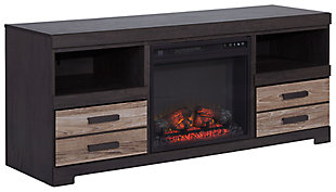 Harlinton 63 Tv Stand With Fireplace Large