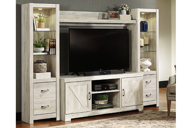 Bellaby 4 Piece Entertainment Center Ashley Furniture Homestore