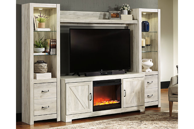 Bellaby 4 Piece Entertainment Center With Fireplace Large