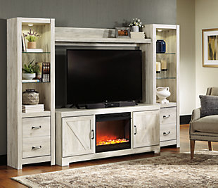Bellaby 4-Piece Entertainment Center with Fireplace, , large