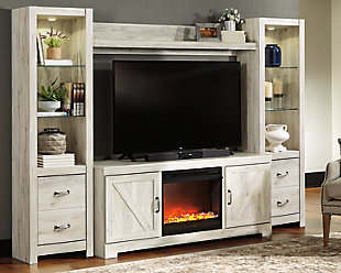 Bellaby 4-Piece Entertainment Center with Fireplace, , rollover