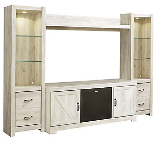 Bellaby 4-Piece Entertainment Center with Audio, , large