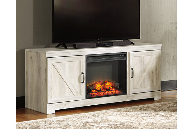 Bellaby 63 Tv Stand With Fireplace Ashley Furniture Homestore