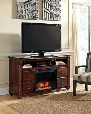 """Gabriela 59"""" TV Stand with Electric Fireplace, , rollover"""