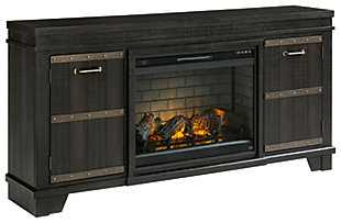 "Noorbrook 72"" TV Stand with Electric Fireplace, , large"
