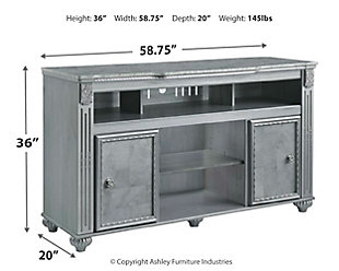 "Zolena 59"" TV Stand, , large"