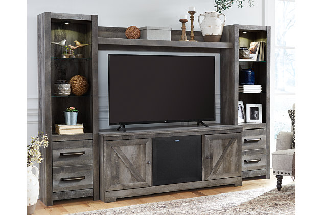Wynnlow 4-Piece Entertainment Center with Audio, , large