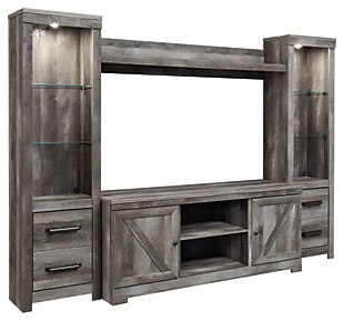 Wynnlow 4-Piece Entertainment Center, , large