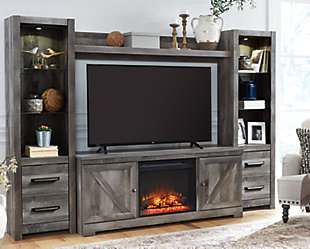 Wynnlow 4-Piece Entertainment Center with Fireplace, , rollover