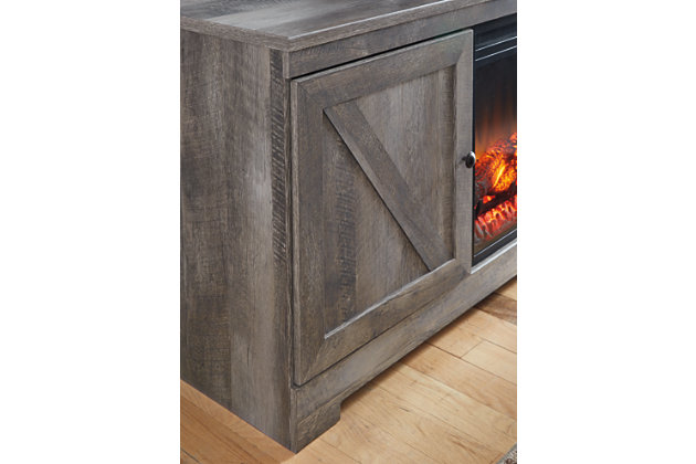 Wynnlow 4-Piece Entertainment Center with Electric Fireplace, , large