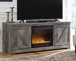 "Wynnlow 63"" TV Stand with Fireplace, , rollover"