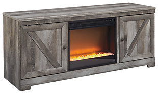 "Wynnlow 63"" TV Stand with Fireplace, , large"